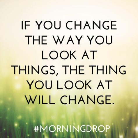 morning drop, anchor drop, inspiration