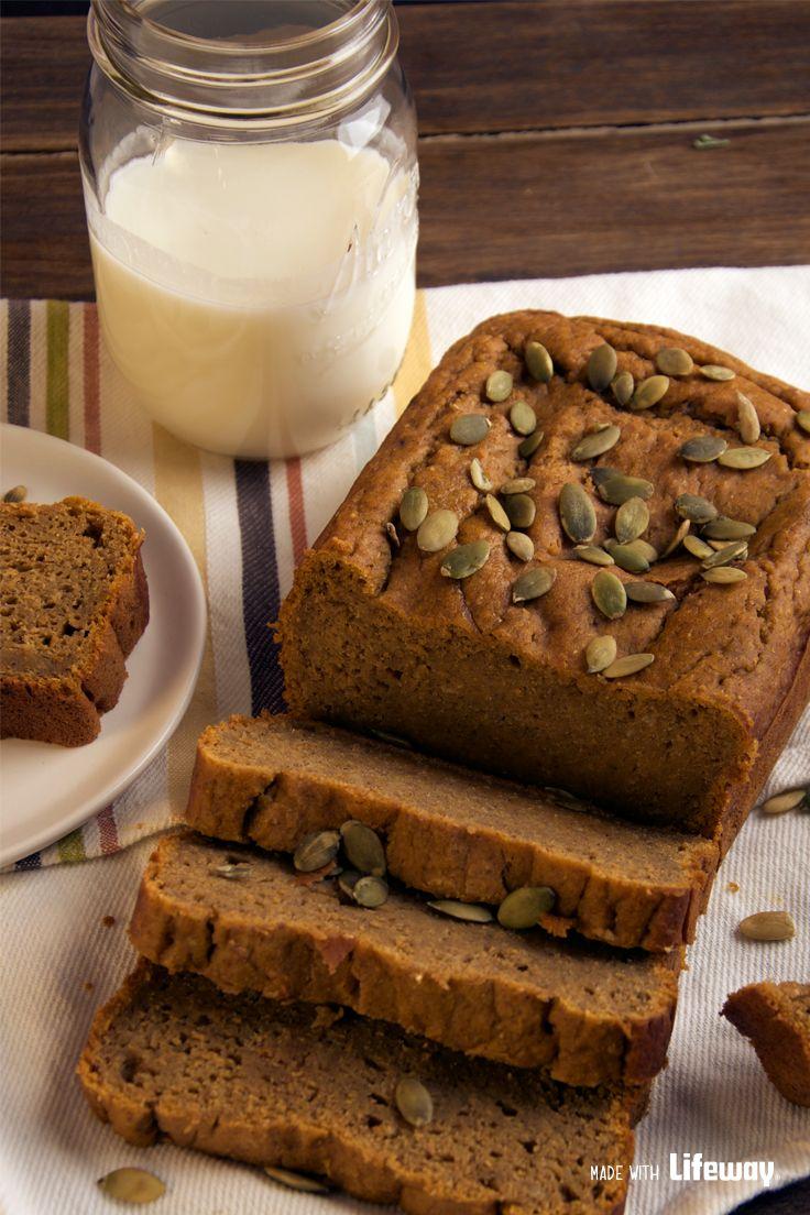 kefir pumpkin quick bread