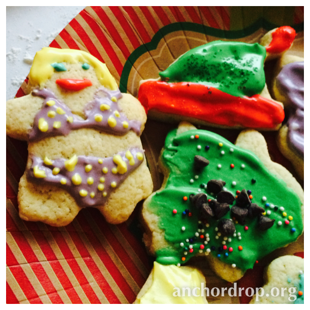 Corn Free Sugar Cookies and Frosting
